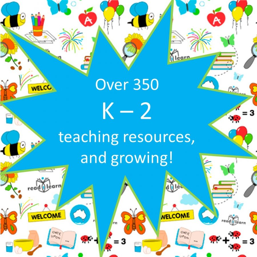 readilearn has over 350 lower primary teaching resources