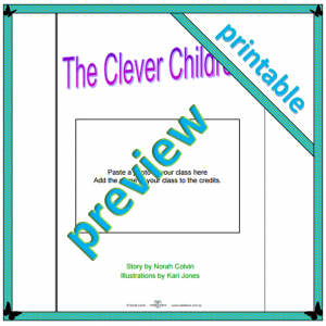 The Clever Children a story about confidence to personalise and print