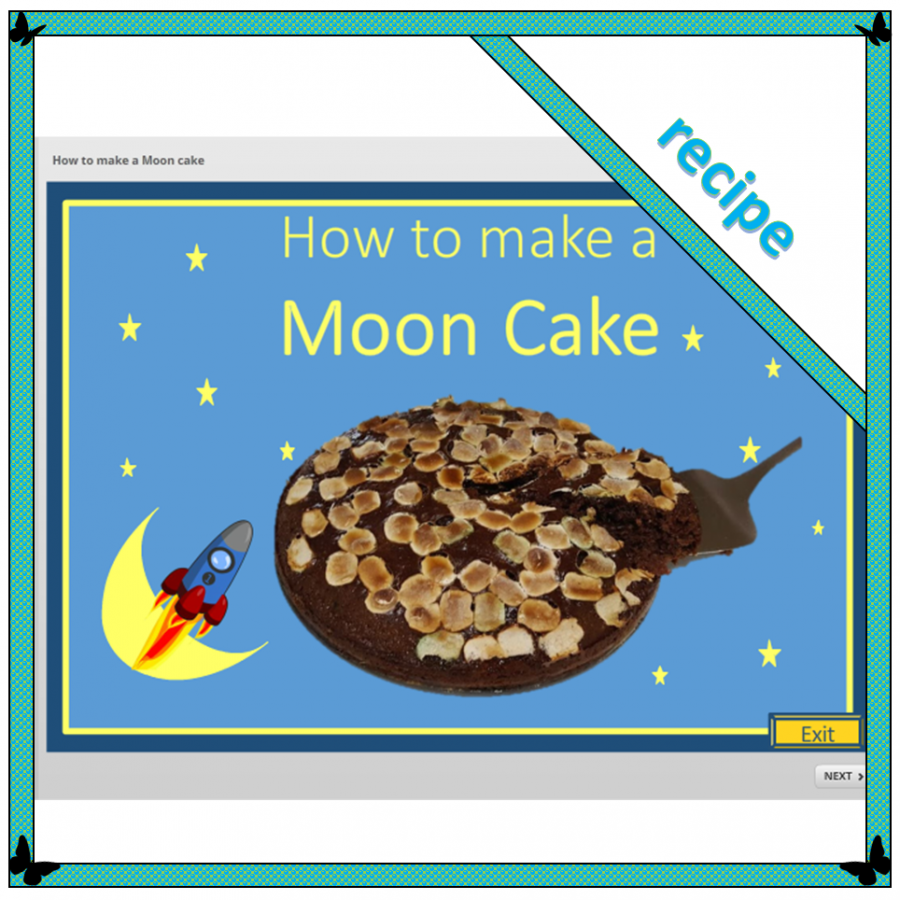 recipe for making a moon cake