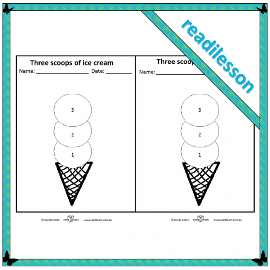 a lesson about possible and impossibe,discussing ice cream flavours