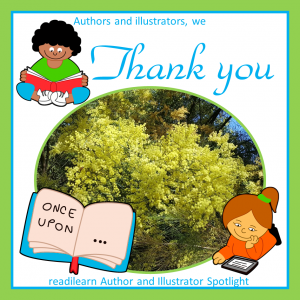 thank you writers and illustrators for sharing information about your books and your creative process