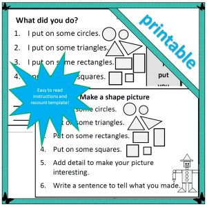 Make a shape picture - cover