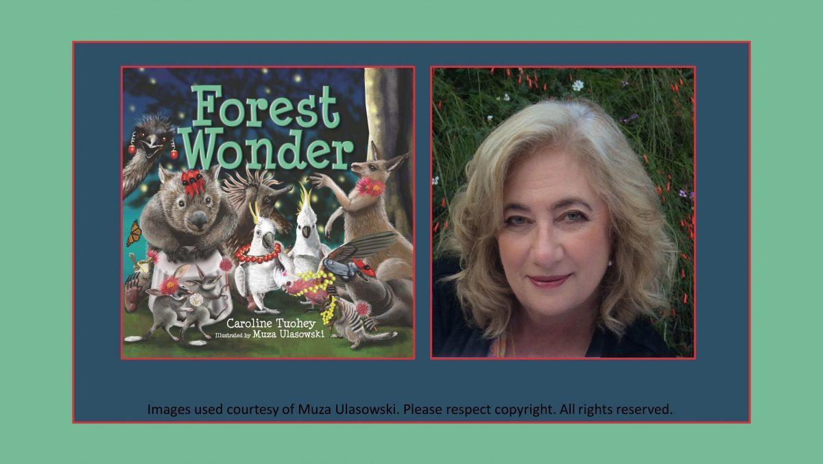 Muza Ulasowski Illustrator Forest Wonder picture book Australian animals Caroline Tuohey