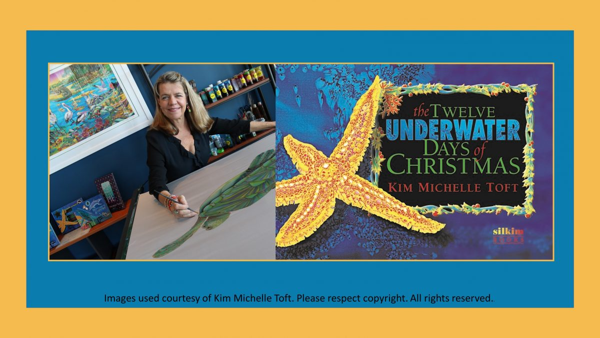 Kim Michelle Toft The Twelve Underwater Days of Christmas marine ecology marine conservation