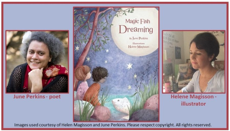 Magic Fish Dreaming poetry for children picture book Helene Magisson June Perkins