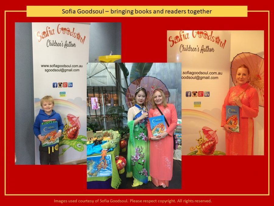 Sofia Goodsoul bringing books and readers together