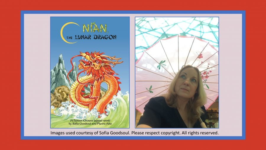Chinese New Year multicultural picture book Nian the Lunar Dragon Sofia Goodsoul