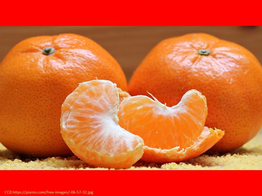 mandarins for Chinese New Year