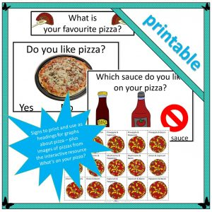 pizza themed lower primary teaching resources graphing