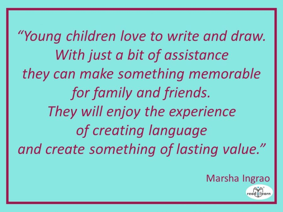 quote about writing by Marsha Ingrao