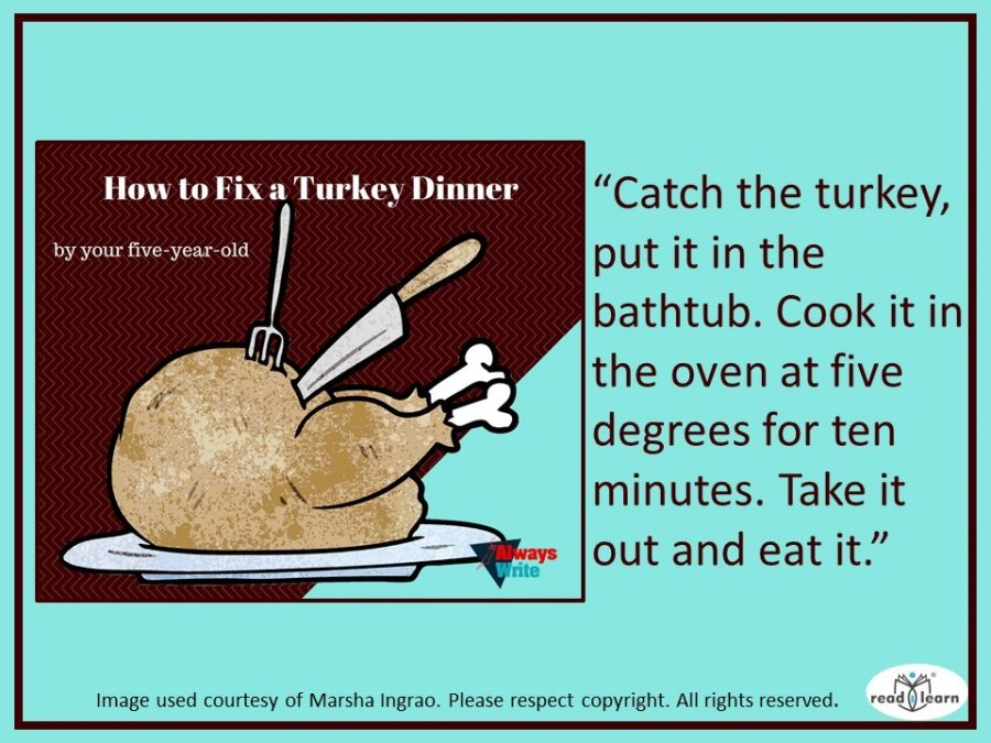 How to fix a turkey dinner by Marsha Ingrao