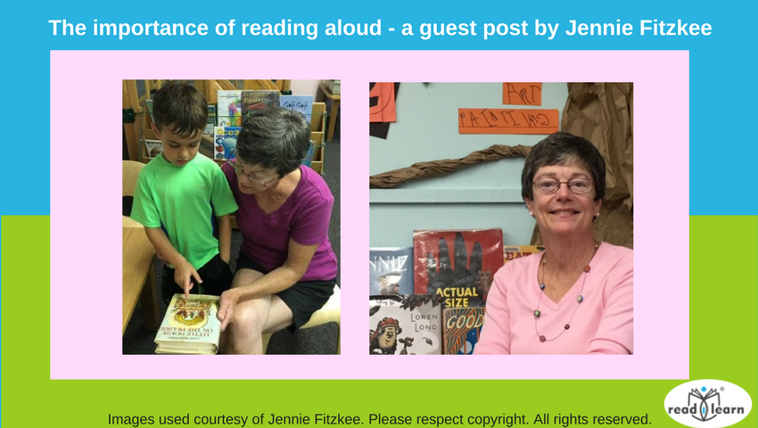 Jennie Fitzkee - The Importance of Reading Aloud for International Read to Me Day