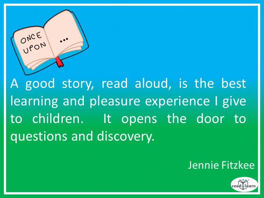 Jennie Fitzkee - a good story opens the door to questions and discovery