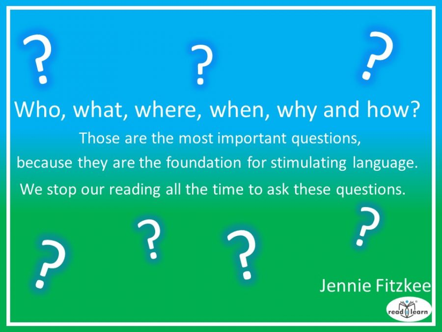 Jennie Fitzkee on the importance of asking questions when reading