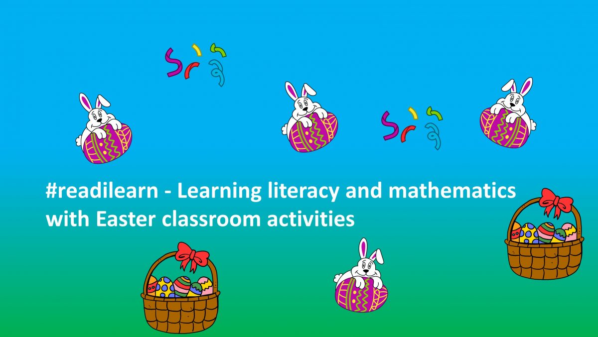 learning literacy and maths across the curriculum with Easter themed teaching resources for the first three years of school