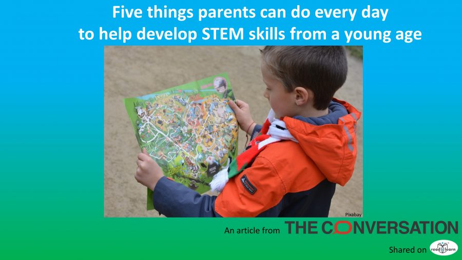 5 things parents can do to encourage STEM from a young age