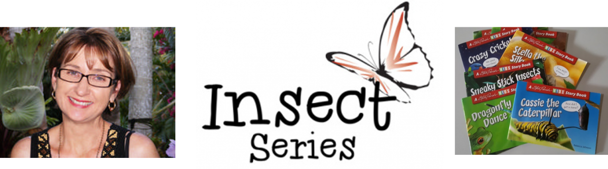 Rebecca Johnson, author of the Insect Series