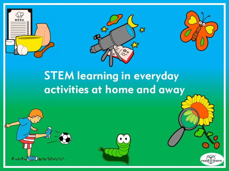 STEM learning in everyday activities at home