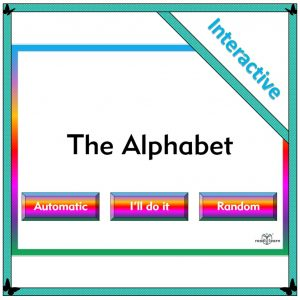 an interactive resource for teaching letters and sounds and phonics on the interactive whiteboard