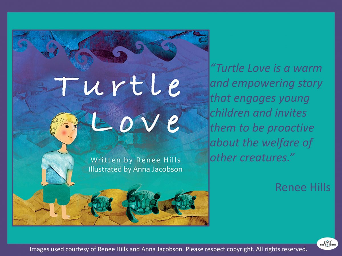 Turtle Love is warm and empowering