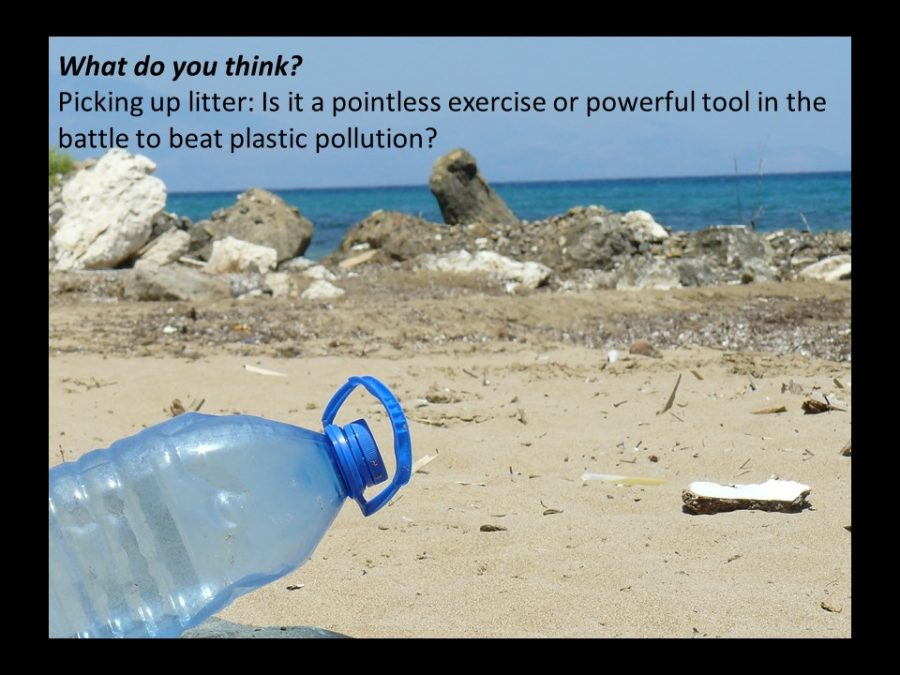 What do you think - clean up the rubbish or ban production?