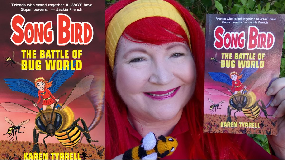 Karen Tyrrell author of Songbird Super Hero series