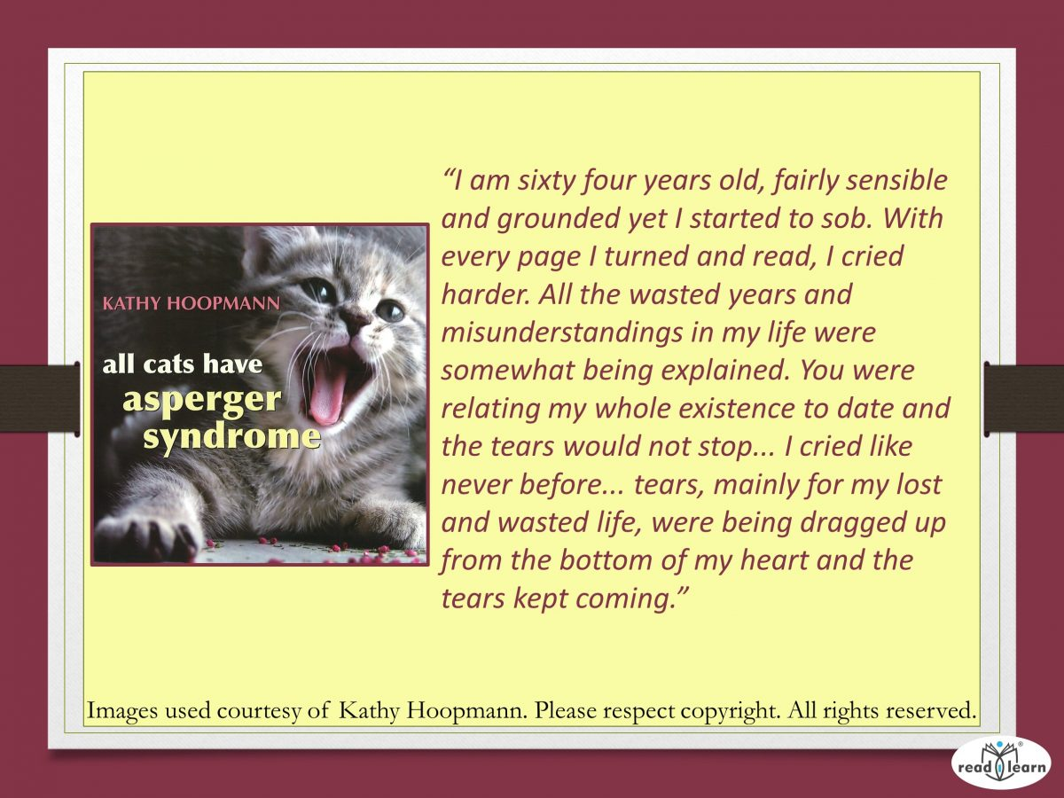 All Cats have Aspergers - a picture book by Kathy Hoopman