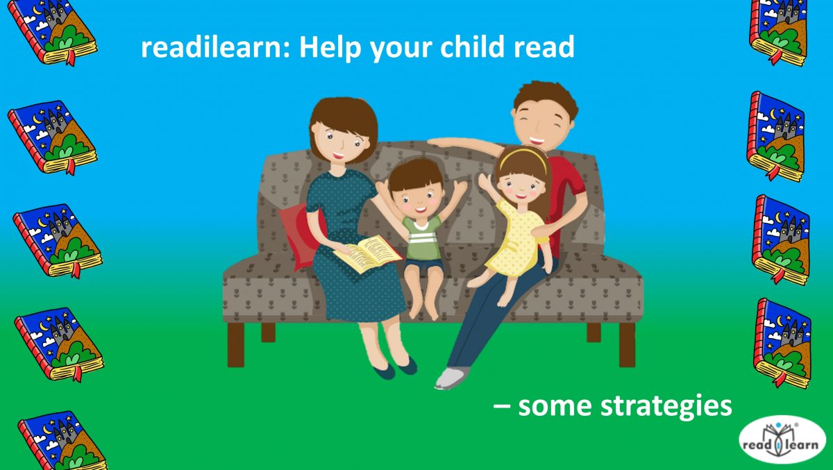 strategies parents can use to help their children become effective readers