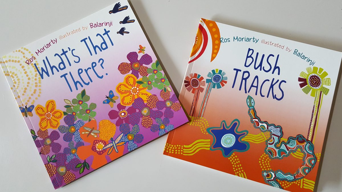 Indigenous picture books for kids by Ros Moriarty