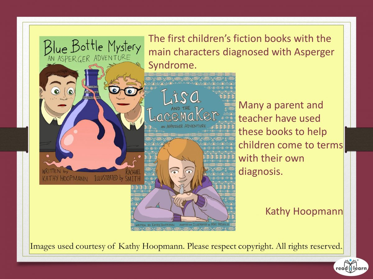 Kathy Hoopman's first children's books