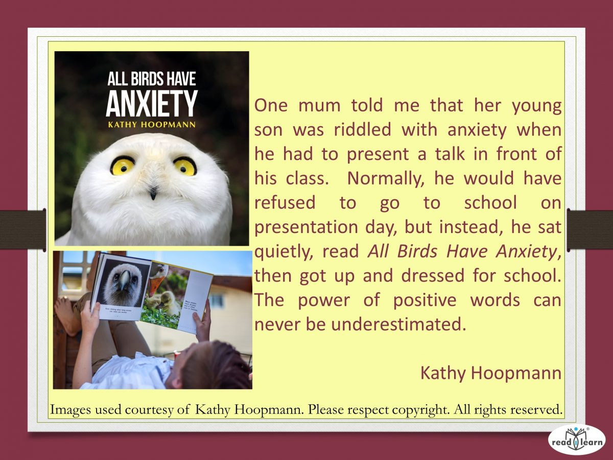 All Birds have Anxiety - a picture book by Kathy Hoopman