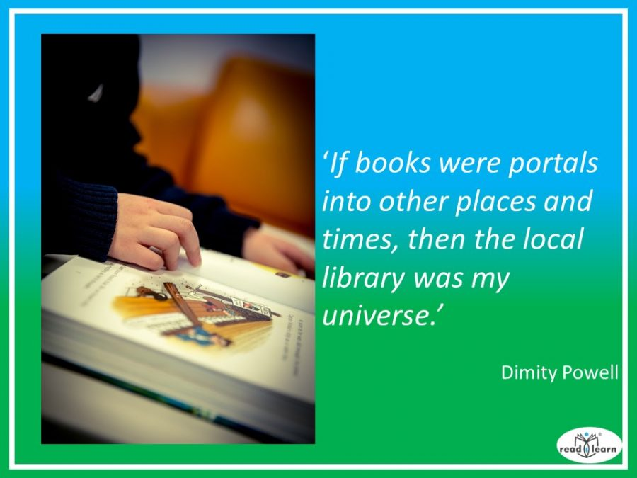 if books were portals then the library was my universe - quote by Dimity Powell