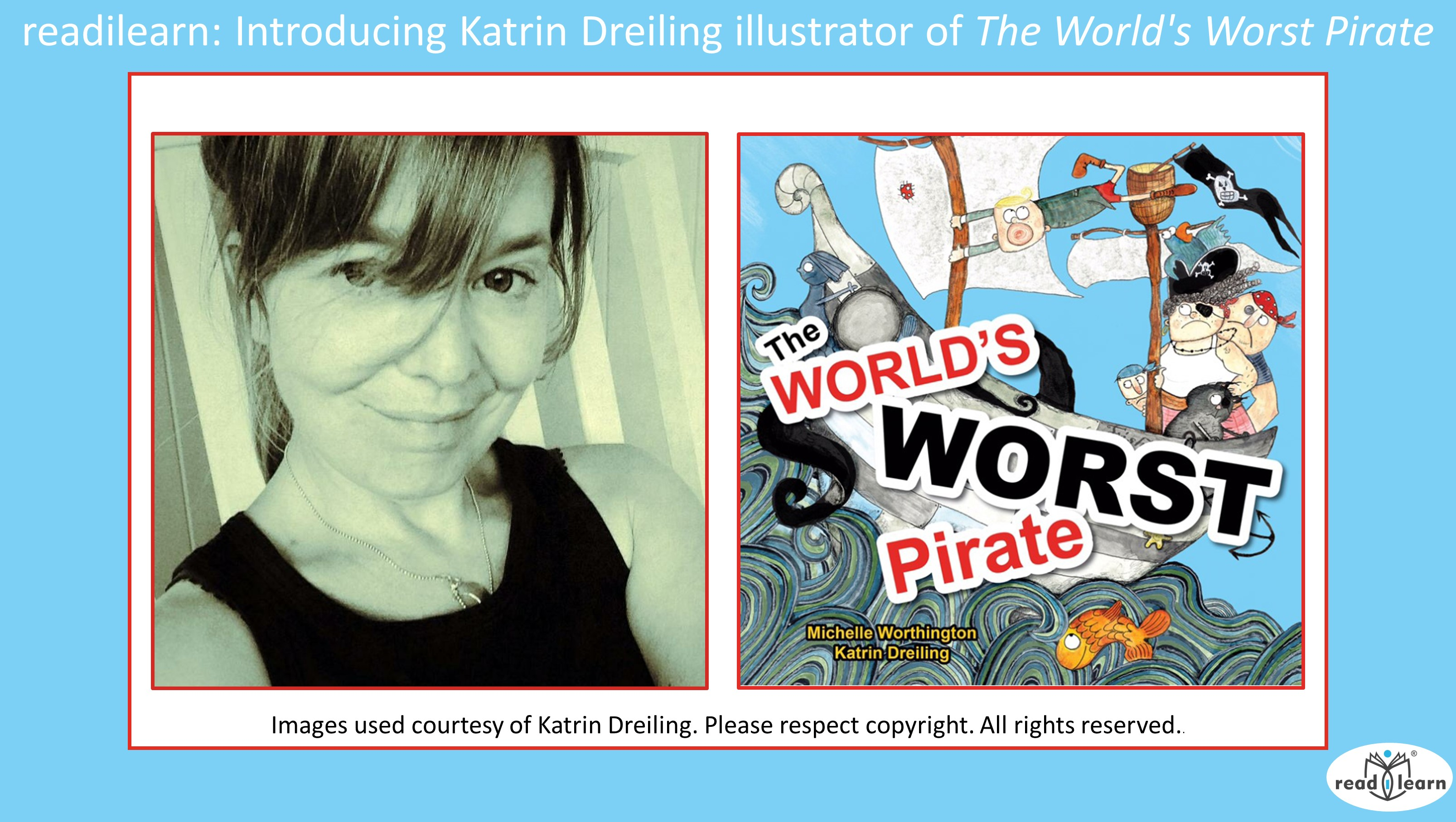 interview with Katrin Dreiling, illustrator of The World's Worst Pirate