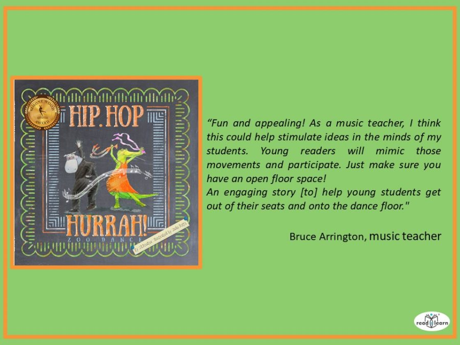 a wonderful review of Hip Hop Hurrah Zoo Dance by J. R. Poulter