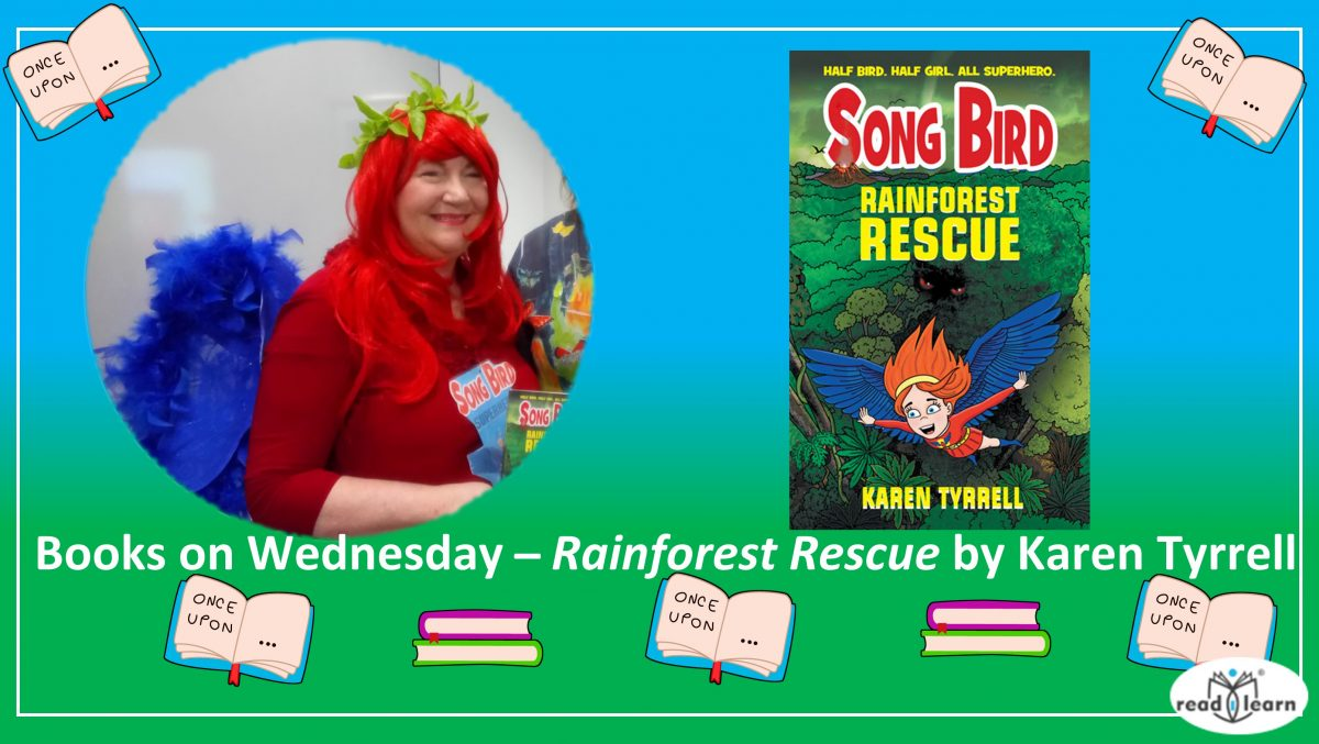 readilearn interview with Karen Tyrrell author of Rainforest Rescue