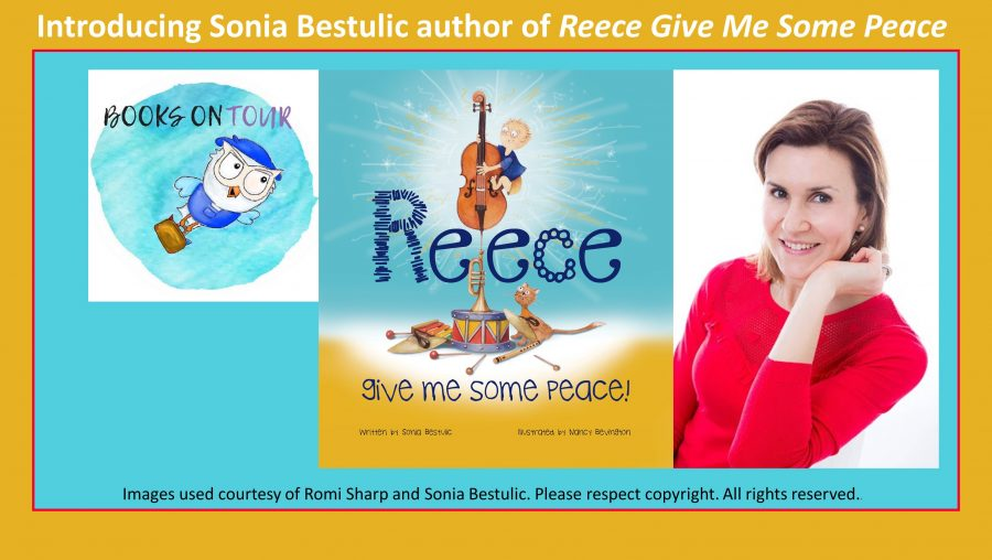 interview with Sonia Bestulic author of Reece Give Me Some Peace