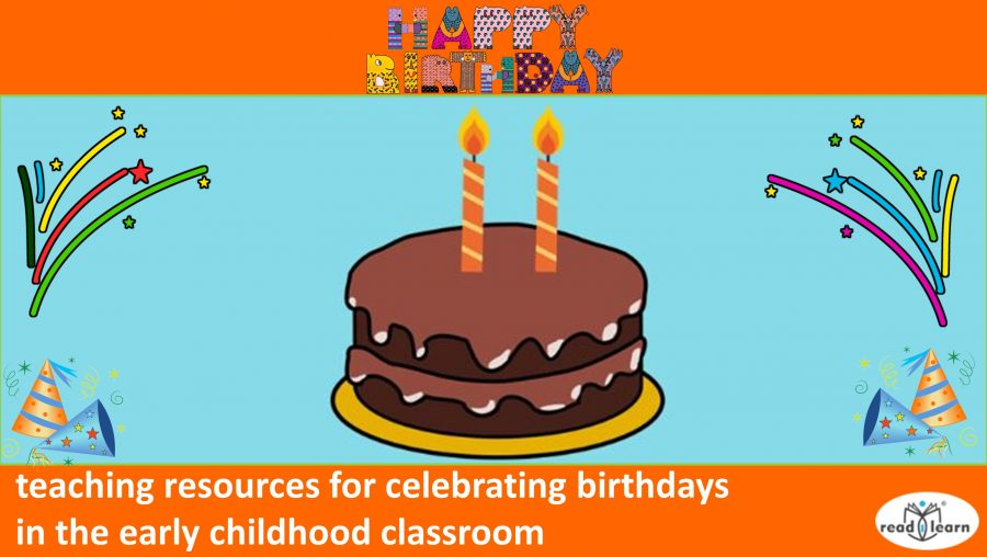 teaching resources for celebrating birthdays in the classroom