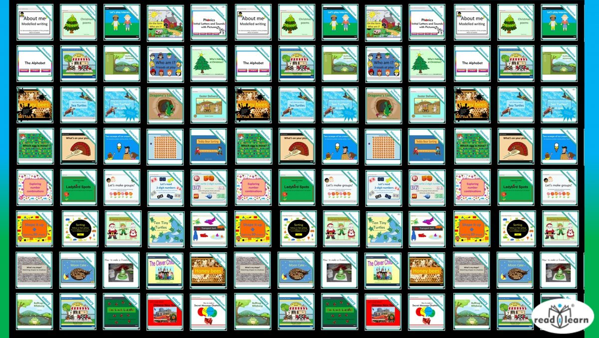 readilearn interactive teaching resources for use on the interactive whiteboard