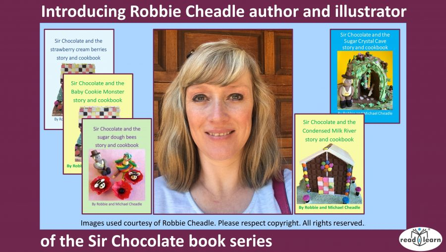 Introducing Robbie Cheadle author and illustrator of the Sir Chocolate book series