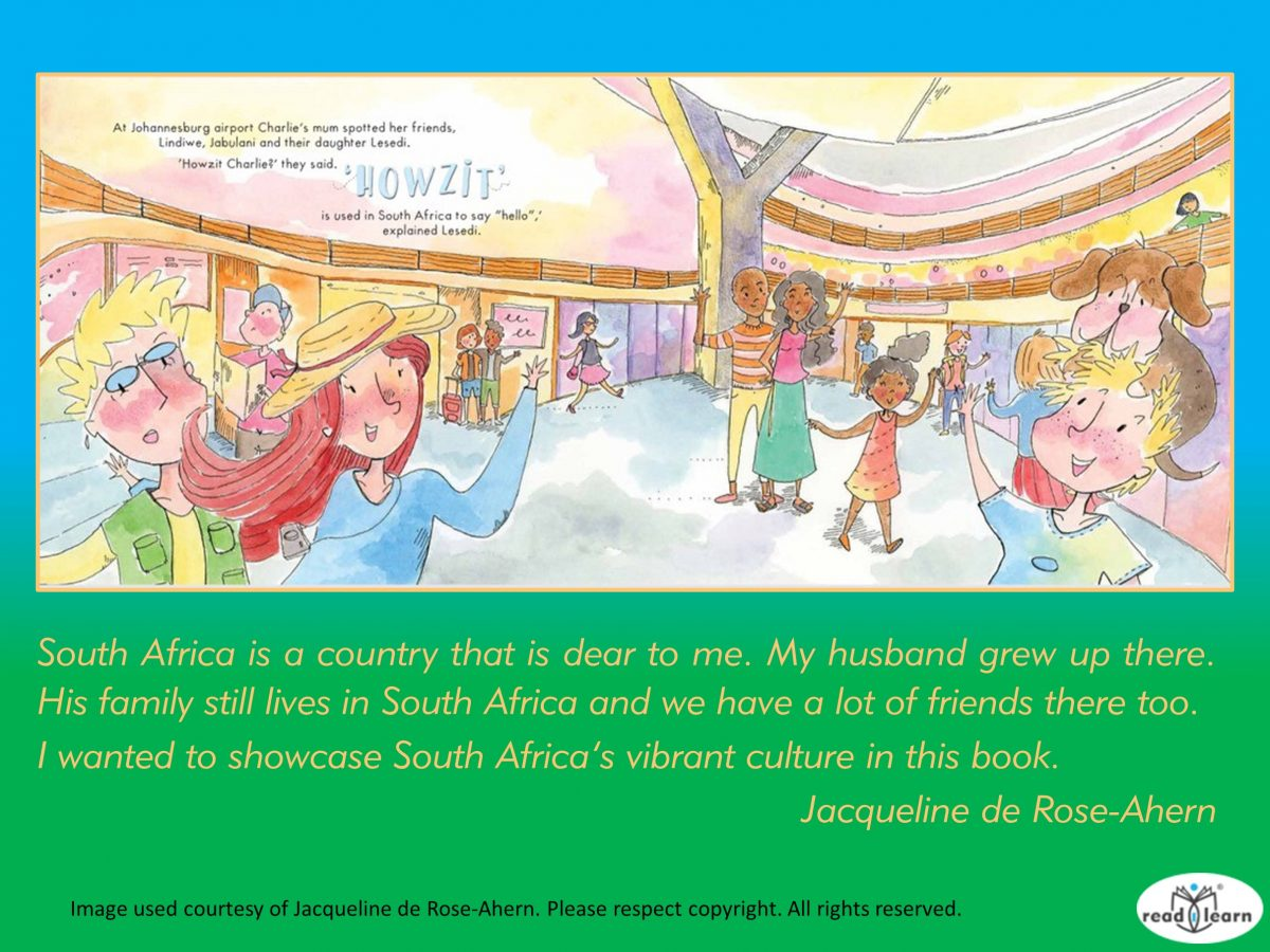 quote about South African culture by Jacqueline de Rose-Ahern