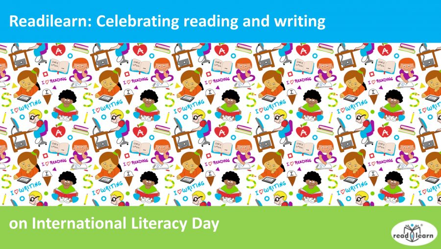 a celebration of reading and writing on international literacy day