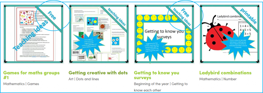 free lower primary teaching resources from readilearn