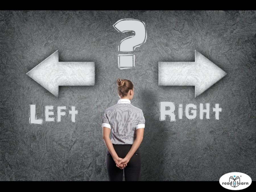 confusion of left and right directions