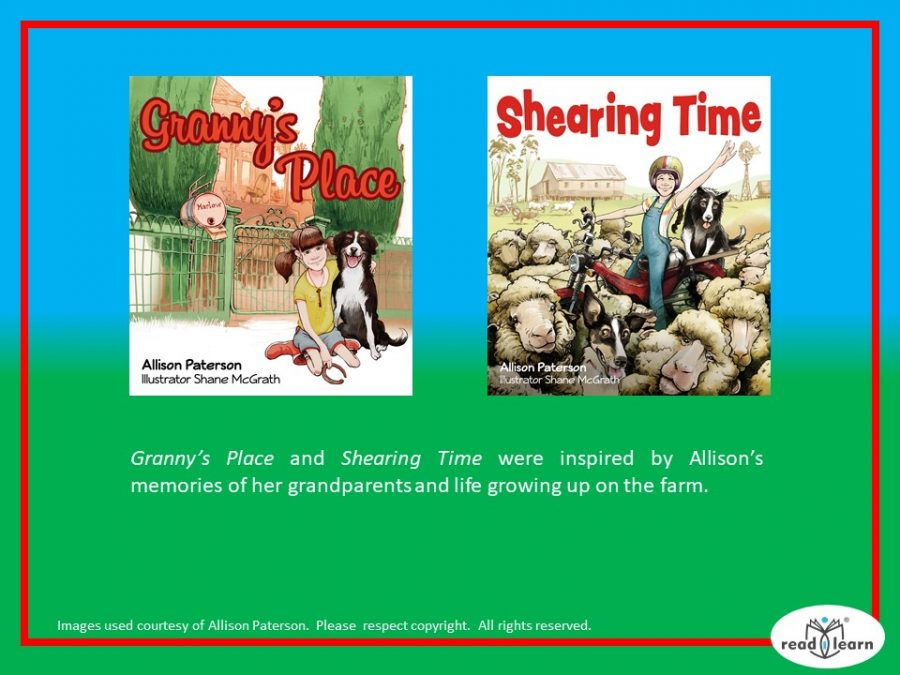 Granny's Place and Shearing Time by Allison Paterson
