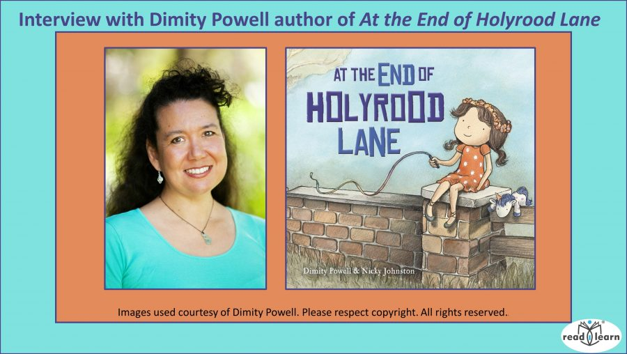 Interview with Dimity Powell author of At the End of Holyrood Lane