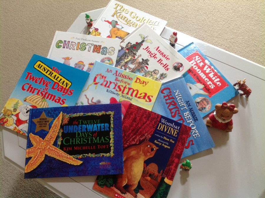 A selection of Christmas picture books by Australian authors
