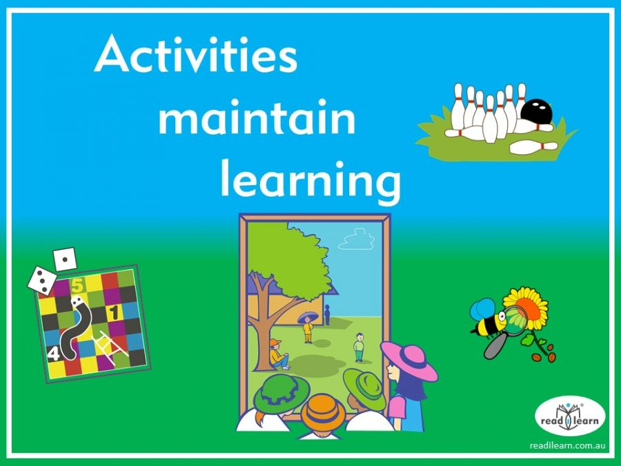 suggestions for activities that maintain learning over the holidays
