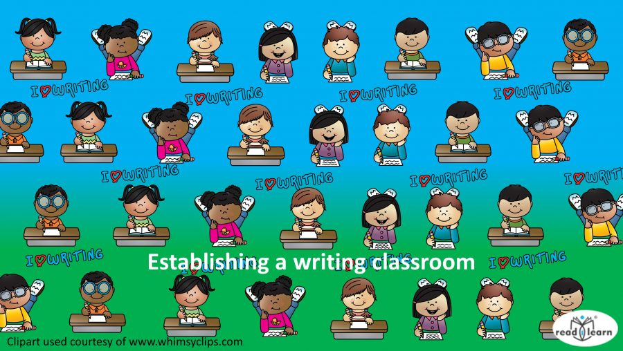 ideas for teaching writing in a classroom environment