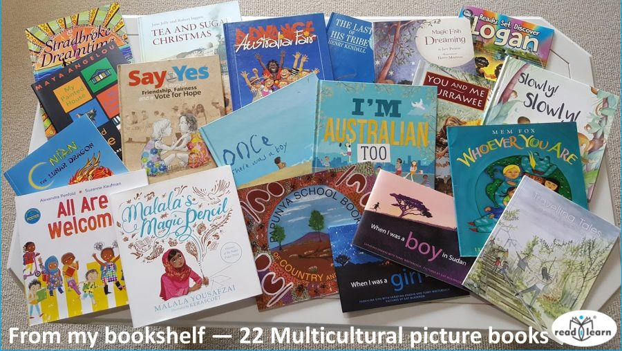 from my bookshelf - multicultural childrens picture books