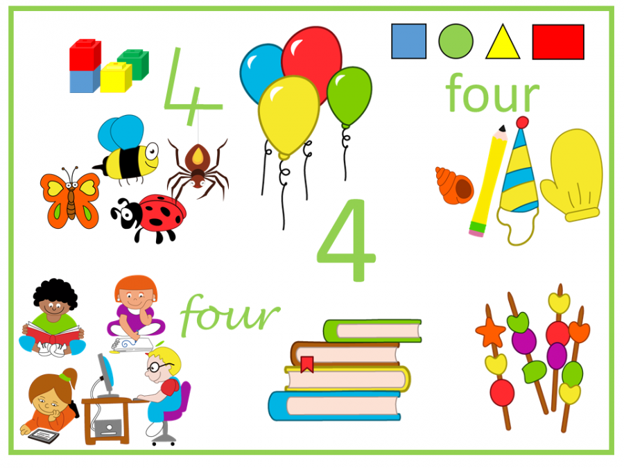 four is four however it is arranged